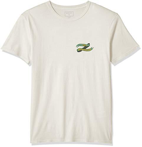 Quiksilver Herren Electric Ocean Short Sleeve Tee Hemd, Gardenia, Mittel
