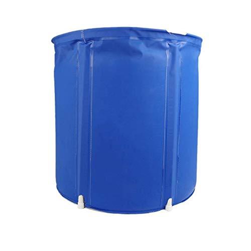 WYJBD Deep Blue aufblasbare Badewanne, bewegliche Faltbare Badewanne, Separates Badezimmer Whirlpool, Erwachsene Haushalt Bad Barrel
