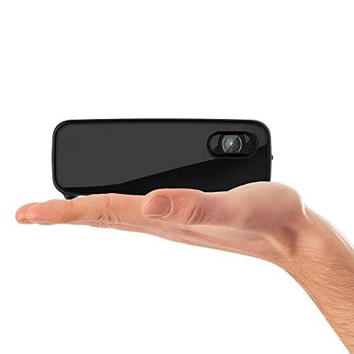 Philips Projection PicoPix Micro 2TV, kompakter Projektor mit Android TV, DLP-LED, HDMI, USB-C, 5 Std. Akkulaufzeit, PPX360