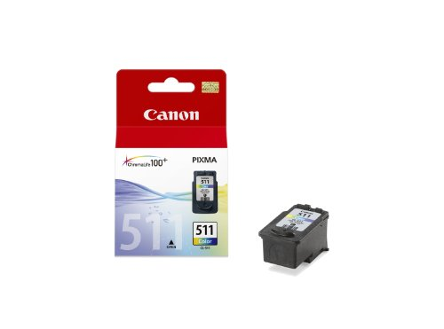 Best Price Square Ink Cartridge, CL-511, Colour Orig CL-511 by Canon