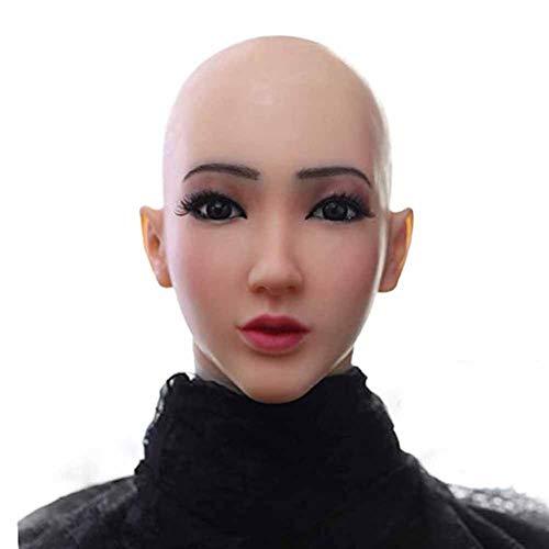 Candyana Crossdress Speciale zachte siliconen realistische vrouwelijk hoofdmasker Cosplay Masker Transgender Halloweenmasker Drag Queen