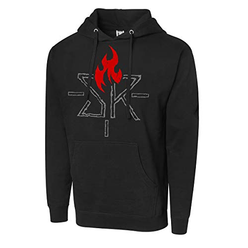 WWE Seth Rollins Ignite The Will Pullover Hoodie Sweatshirt -  Schwarz -  X-Large
