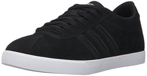 adidas Courtset Suede Fashion Sneaker - 7.5M - Core Black/Core Black/Copper Metallic