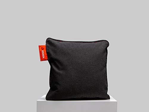 Stoov Ploov 45x45 | Premium Charcoal Schwarz