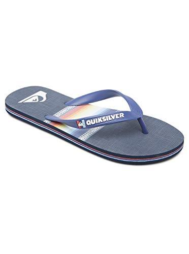 Quiksilver Herren Molokai Sun Faded Flip-Flop, Blue/Blue/Black, 40 EU