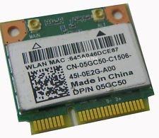 5GC50 - WiFi Card Qualcomm Atheros QCWB335  DW1075 Mini PCI-E 802.11b/g/n  Bluetooth 4.0 Latitude 3540