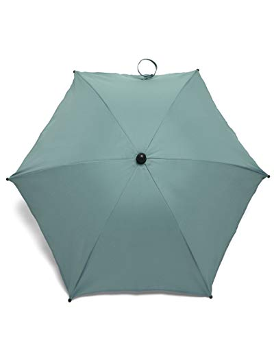 Mamas & Papas Universal Parasol, UPF 50+ Fabric, Easy Fit Clamp and Adjustable, Flexible Arm for Pram/Pushchair/Buggy - Duck Egg