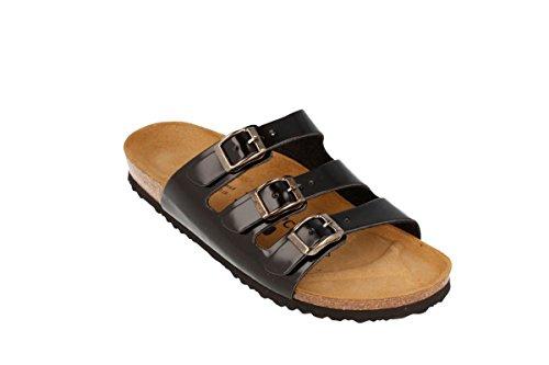 JOYCE Paris sandalen | comfortabele kurk-sandalen met comfortabele zool | pasvorm smal en normaal | maten 36-46 | basic kleuren