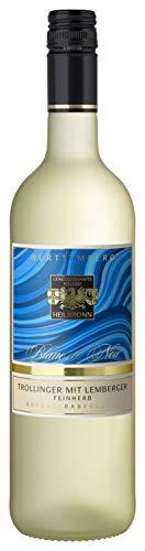Württemberger Wein Heilbronner Trollinger mit Lemberger Blanc de Noir QW halbtrocken (1 x 0.75 l)