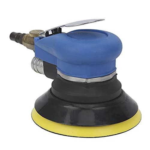 Okuyonic Amoladora De Coche, Interruptor De Presión Humanizado Lijadora De Aire Neumática Amoladora Circular Neumática para Pulido De Metales para Escena De Pulido De Automóviles para Hombre