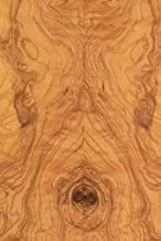 Olive Ash, White Burl Wood Veneer 48x96 20 mil(Paperback) Sheet