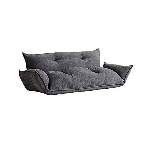 AnAnmei Lazy Sofá, Sofá Cama Ajustable reclinables Plegable sofá Moderno Sofás de Muebles for la Sala (Gris)