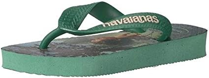 Boys Kids Good Dinosaur Sandal Flip Flop - Green Tea 23/24 Br