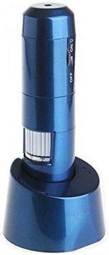 HYCQ Microscopio Digital de Alta definición Wi-Fi, de Mano 200 x microscopio USB, transmisión inalámbrica, de Imagen LED para la Industria cosmética médica, caligrafía Antigua y la detección Foto