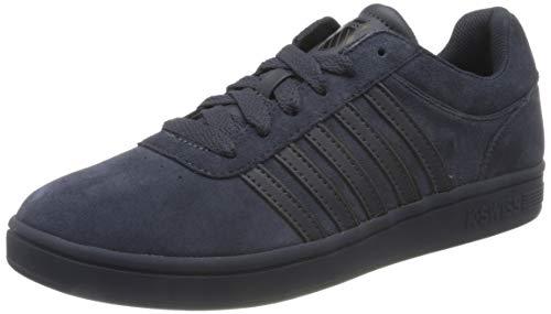 K-Swiss Mens Court CHESWICK SPSDE Sneaker, India Ink/Black, 45 EU