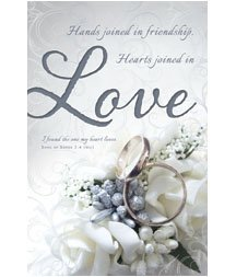 Standard Bulletin 11 - Wedding - Hands joined in friendship, Hearts joined in Love (Pack of 100)