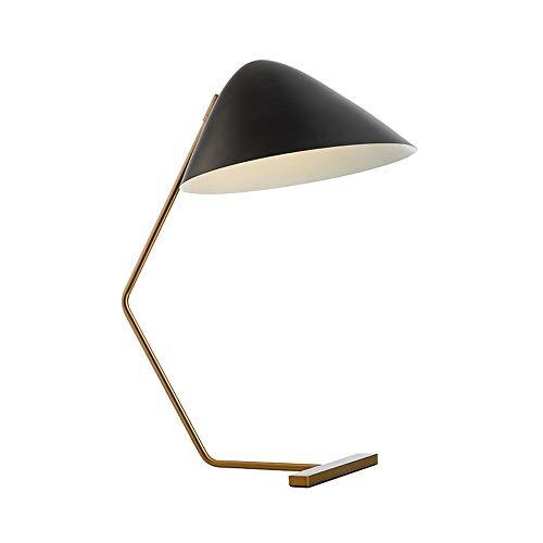 Lighfd Zwart Minimalistisch Art tafellamp, American Living Room Study slaapkamer bedlampje, Strijkijzer, Modern Creative Lighting