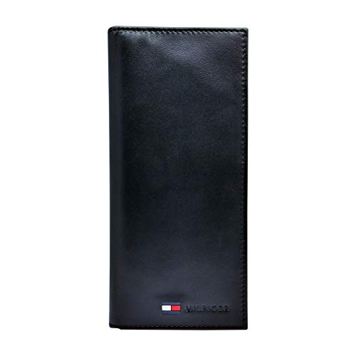 Our #5 Pick is the Tommy Hilfiger Leather Secretary Checkbook Wallet