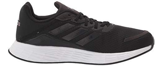 adidas Men's Duramo SL Slide Sandal, Black/Black/Grey, 10