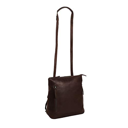 The Chesterfield Brand Leather Backpack Brown Elise