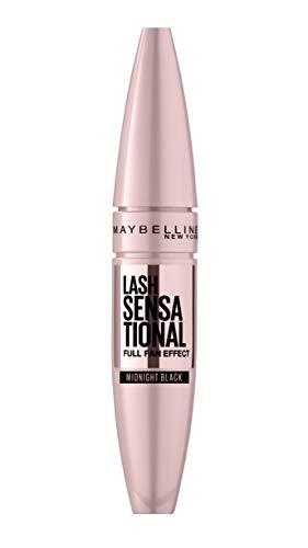 Maybelline New York Mascara für Volumen und Definition, Lash Sensational, Midnight Black, 9,5 ml