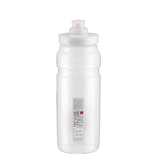 Elite Unisex– Erwachsene Trinkflasche-2324252100 Trinkflasche, klar/grau, 750ml