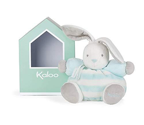Kaloo K960082 - Bebe Pastel Hase Medium, acqua-weiß