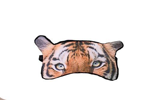 dressfan Nette 3D Tier Tiger Augenmaske Für Schlaf Reise Breathable Eyeshade Weiche Schlafmaske Für Kinder Erwachsene Frauen Männer