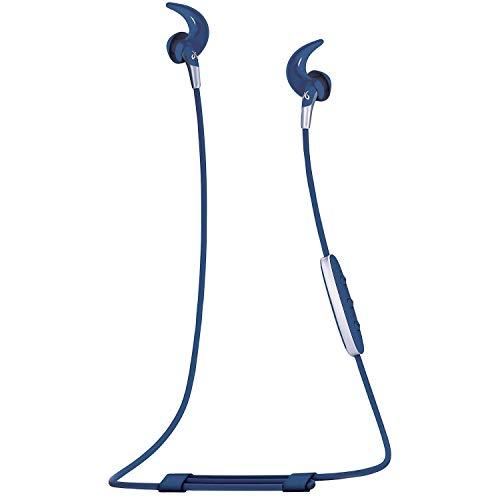 Jaybird Freedom 2 in-Ear Wireless Bluetooth Sport Headphones Earbuds w/Inline Controls, Charging Clip, Battery Pack - Light Blue - 985-000783 (Renewed)