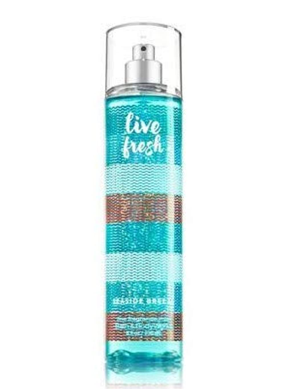 水族館ブランク描写【Bath&Body Works/バス&ボディワークス】 ファインフレグランスミスト シーサイドブリーズ Fine Fragrance Mist Live Fresh Seaside Breeze 8oz (236ml) [並行輸入品]