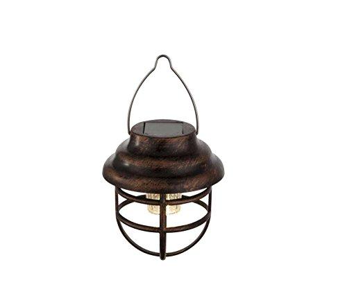 LED Solarleuchte Solarlampe Gartenbeleuchtung Hängelampe Baum-Beleuchtung Edelstahl Außenlampe Laterne (Dekoleuchte, Gartenleuchte, Außenleuchte, Garten-Deko, Hängeleuchte)