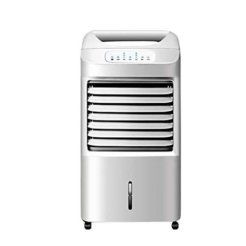 QJF-scales Portatil Aire Acondicionado Enfriador De Aire, Ventilador Silencioso Enfría Ventila Humidifica Bajo Consumo, para Hogar Oficina Sala Viaje