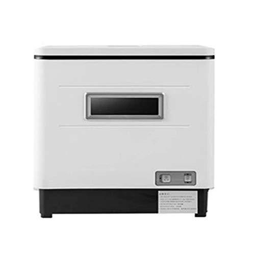 Ashey Entièrement Automatique Lave-Vaisselle Ménagers Bureau Petit Chaleur Désinfection Vaporiser De Vaisselle Machine Sèche-Vaisselle Électronique [Classe Énergétique A ++]