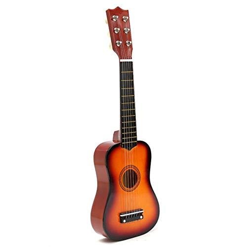 ZFZFZF Práctica ukelele guitarra popular niños instrumentos musicales música educación temprana música guitarra regalo ukelele 105/5000 China Yellow