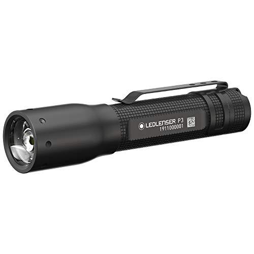 Zweibrüder LED Lenser cea5W nser P3Linterna Caja, Aluminio, Antracita, 0.9x 0.19X 0.19cm