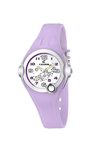 Calypso Watches Mädchen-Armbanduhr Analog Kautschuk K5562/4