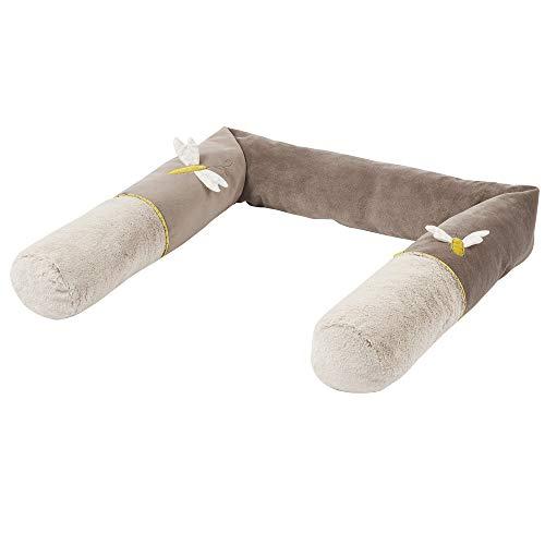 FEHN 064575 Tour de lit Australia/Tour de lit doux pour lit de bébé, lit d'enfant, parc, berceau pour bébés et enfants à partir de 0 mois