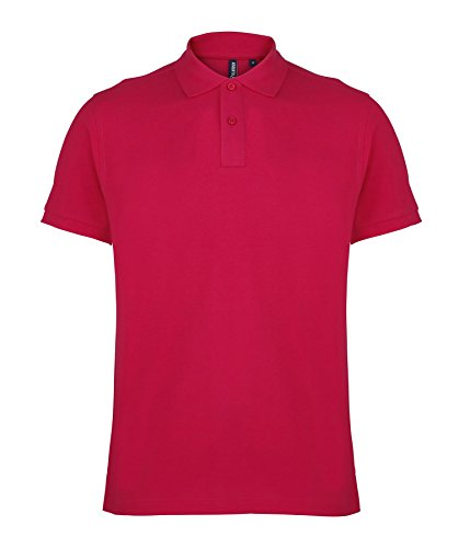 Undercover lingerie AQ010 Asquith & Fox Men's Polo Hot Pink S