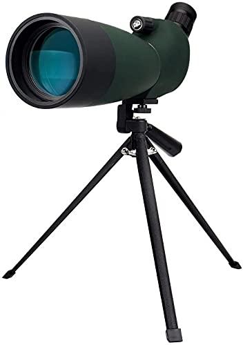 Telescopio monocular, 60x60, alta potencia, gran aumento, poca luz, telescopio para adultos, parasol retráctil para lentes, monoculares para adultos es adecuado para caminatas, viajes y observación.