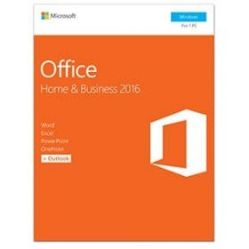 Microsoft - Office home and business 2016 - paquete de la caja - 1 pc - 3264 bits, sin medios de comunicación, p2 - win - polaco - zona euro (t5d-02786)