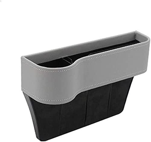 Kun yi Bolsa de asiento de coche cuero de cuero asiento de asiento de asiento de acoplamiento de tarjetas de almacenamiento de taza de taza de taza bolsa de bolsillo suministros automotrices está bien