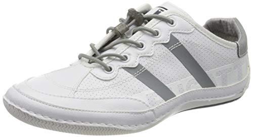 bugatti Herren 321480085000 Sneaker, Weiß, 42 EU
