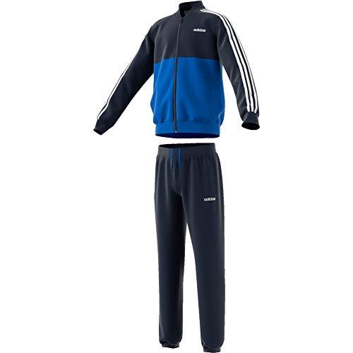 adidas Kinder Woven Trainingsanzug blau 164