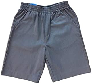 unik Boys All Elastic Waist Pull up Shorts Navy Khaki Black