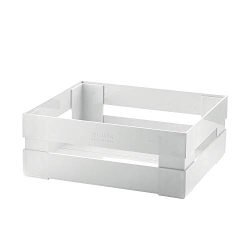 Guzzini Cassetta, Grande Kitchen Active Design, Bianco, 30.5 x 22.5 x h11.5 cm
