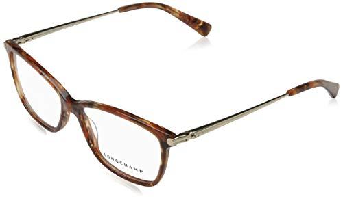Longchamp LO2621 Acetate Sonnenbrille Marble Brown Unisex Erwachsene Mehrfarbig, Standard