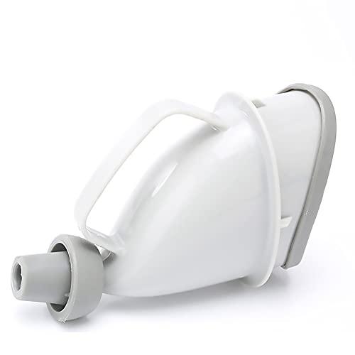 Kabxhueo Urinario Partes privadas Enfermería Botellero portátil para orinario de Alta Capacidad para orina con Tapa antiolor para Viajes, Atascos de tráfico, Camping al Aire Libre