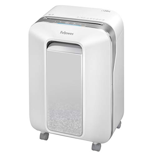 Best Price Fellowes LX20M Powershred Micro Cut 12 Sheet Paper Shredder (White)