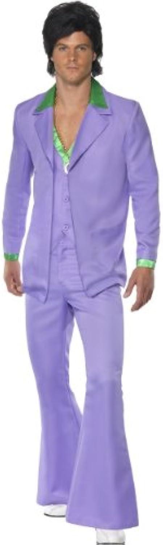 Smiffys Karneval Herren Kostüm Lavender 70er Jahre lila Anzug Größe M B00AVVAENQ Für Ihre Wahl       Jeder beschriebene Artikel ist verfügbar
