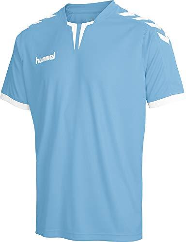 Hummel Core SS Poly - Camiseta para Hombre, Hombre, Camiseta, 003636-7037, Argentina Blue Pr, Large